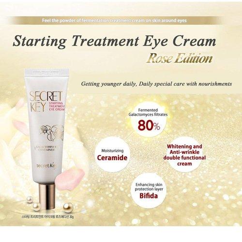 Secret Key Starting Treatment Eye Cream Rose Edition
