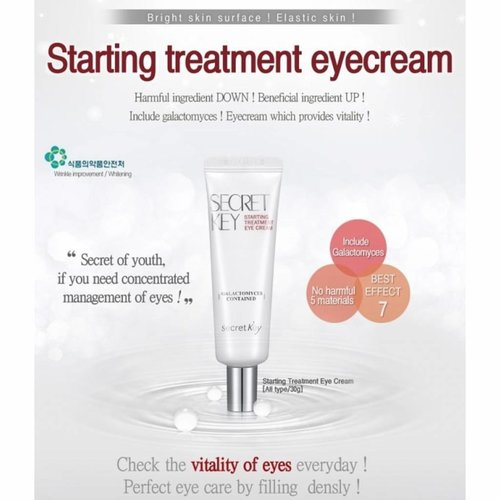 Secret Key Starting Treatment Eye Cream