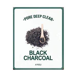 A'pieu Pore Deep Clear Black Charcoal Mud Mask
