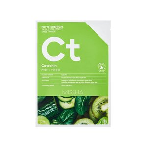 Missha Phytochemical Catechin  Skin Supplement Sheet Mask