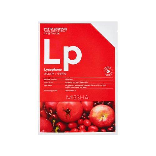 Missha Phytochemical Lycophene  Skin Supplement Sheet Mask