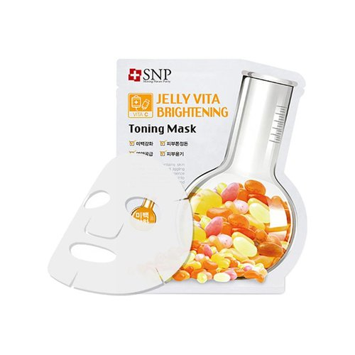 SNP Jelly Vita Brightening Toning Mask