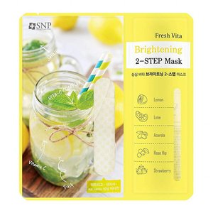 SNP Fresh Vita Brightening Two-Step Mask
