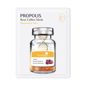 Pure Heal's Propolis Rose Callus Mask