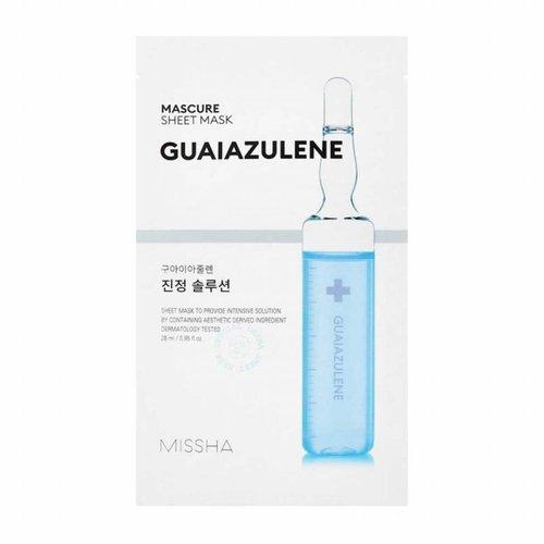 Missha Mascure Guaiazulene Rescue Solution Sheet Mask