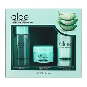 Holika Holika Aloe Soothing Essence Skin Care Special Set