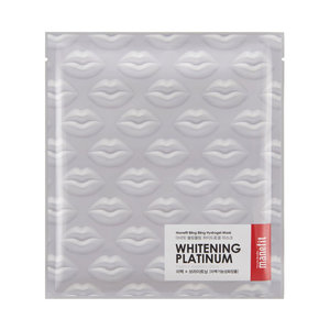 Manefit Bling Bling Whitening Platinum Hydrogel Mask