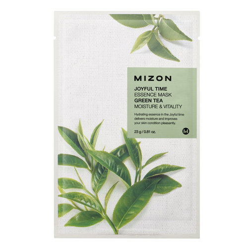 Mizon Joyful Time Green Tea Essence Mask