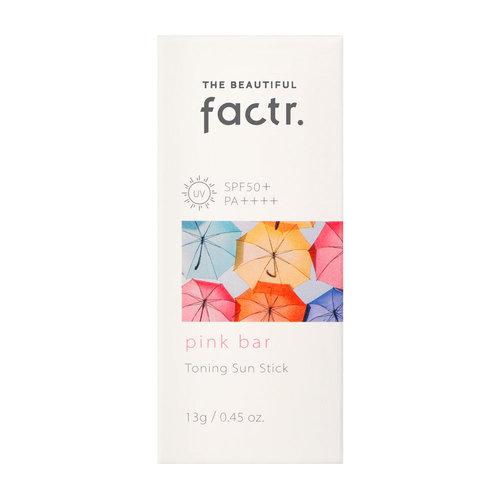 The Beautiful Factr. Pink Bar Toning Sun Stick
