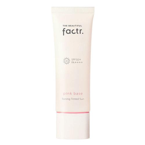 The Beautiful Factr. Pink Base Toning Tinted Sun
