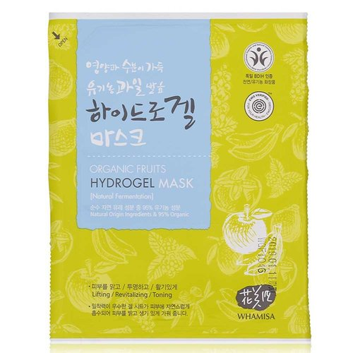 Whamisa Organic Fruits Hydrogel Mask