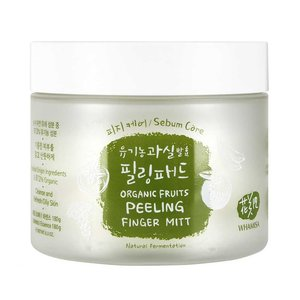 Whamisa Organic Fruits Peeling Finger Mitt - Sebum Care