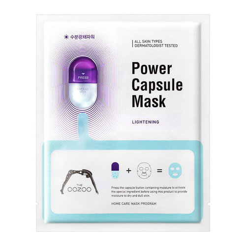 The Oozoo Lightening Power Capsule Mask