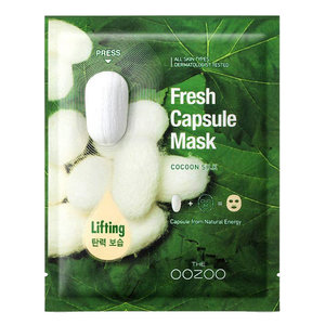 The Oozoo Cocoon Silk Fresh Capsule Mask