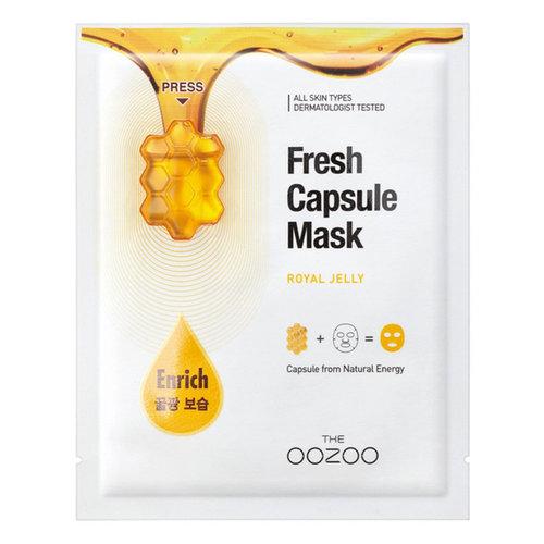 The Oozoo Royal Jelly  Fresh Capsule Mask