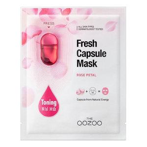 The Oozoo Rose Petal Fresh Capsule Mask