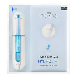 The Oozoo Hydro Lift Face In-Shot Mask
