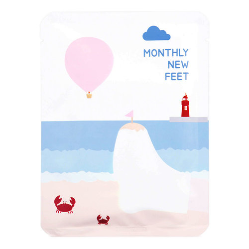 PACK-age Monthly New Feet Foot Pack