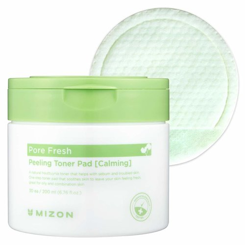 Mizon Pore Fresh Peeling Toner Pad (Calming)