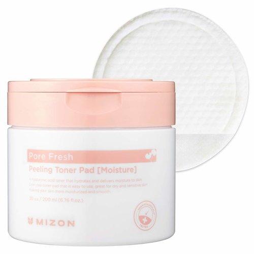 Mizon Pore Fresh Peeling Toner Pad (Moisture)