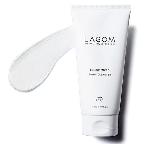 Lagom Cellup Micro Foam Cleanser