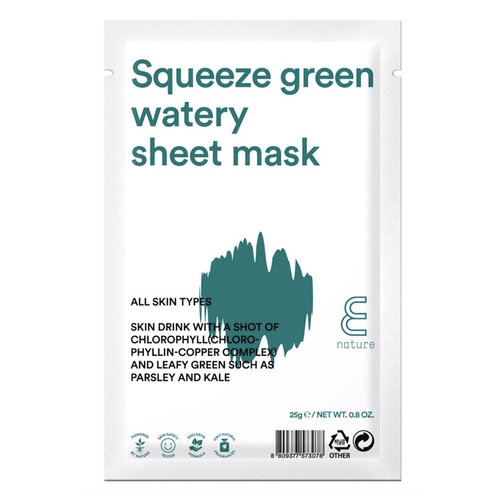 E Nature Squeeze Green Watery Mask