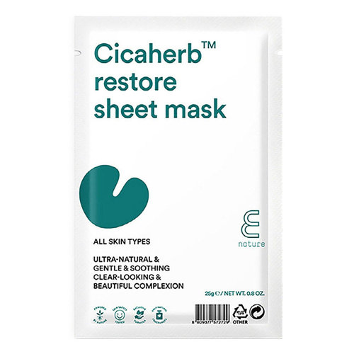 E Nature Cicaherb Restore Mask