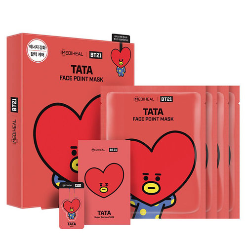 Mediheal BT21 Tata Face Point Mask