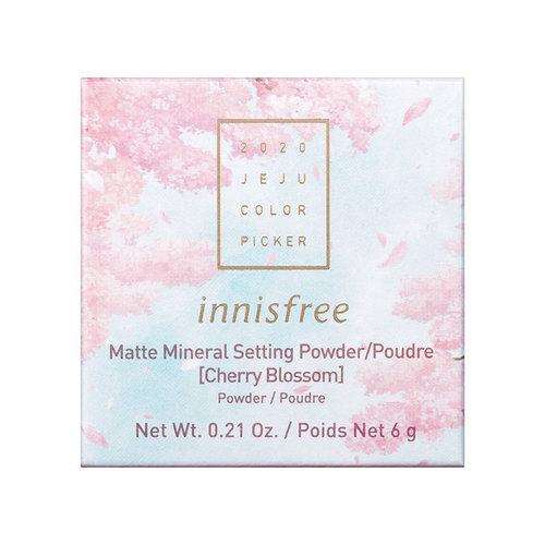 Innisfree Cherry Blossom No-Sebum Mineral Powder