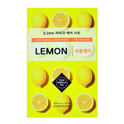 Etude House 0.2mm Therapy Air Mask Lemon