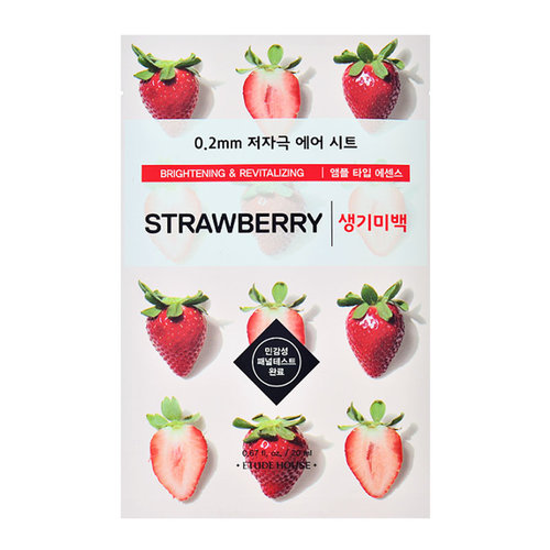 Etude House 0.2mm Therapy Air Mask Strawberry