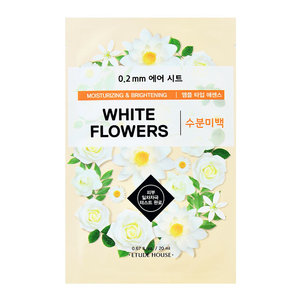 Etude House 0.2mm Therapy Air Mask White Flowers