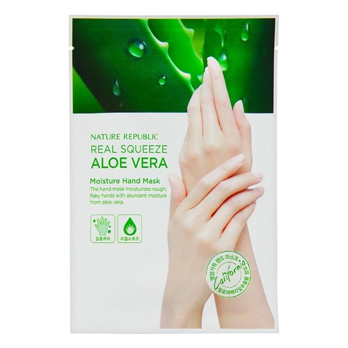 Nature Republic Real Squeeze Aloe Vera Moisture Hand Mask