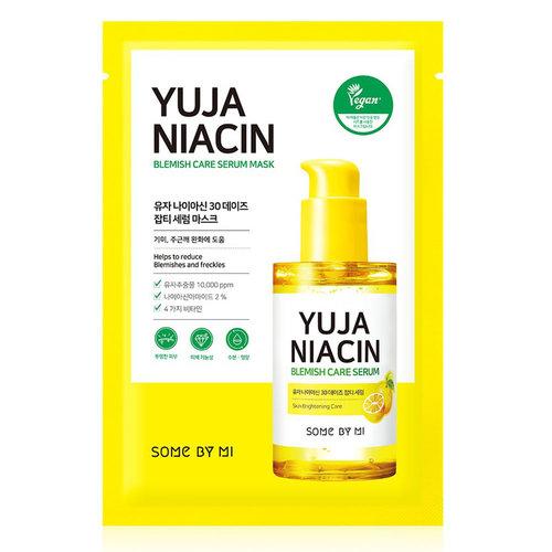 Some By Mi Yuja Niacin Brightening 30 Days Blemish Care Serum Mask