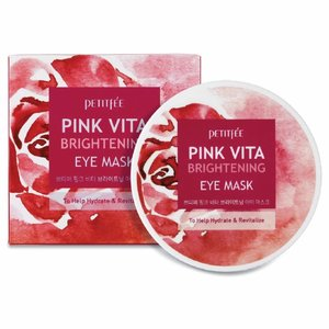 Petitfée Pink Vita Brightening Eye Mask