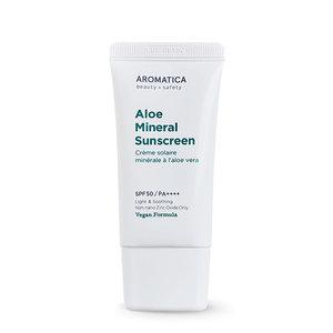 Aromatica Aloe Mineral Sunscreen SPF50 PA++++