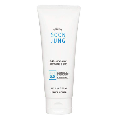 Etude House Soon Jung ph5.5 Foam Cleanser