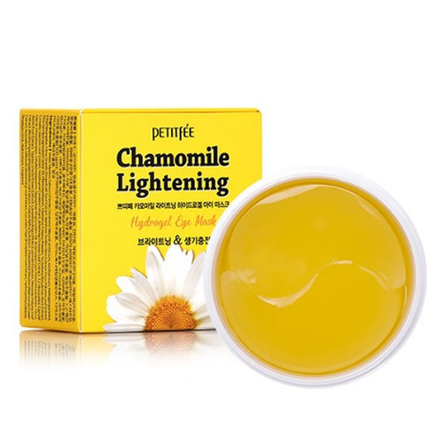 Petitfée Chamomile Lightening Hydrogel Eye Mask