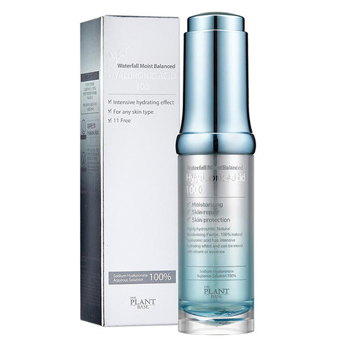 The Plant Base Waterfall Moist Balanced Hyaluronic Acid 100
