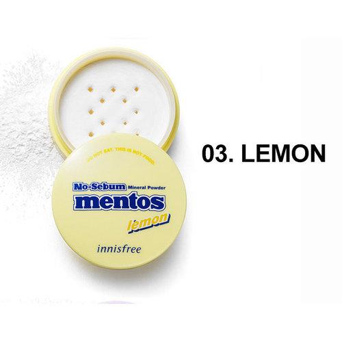 Innisfree No-Sebum X mentos No-Sebum Mineral Powder