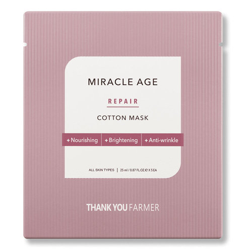 Thank You Farmer Miracle Age Repair Cotton Mask
