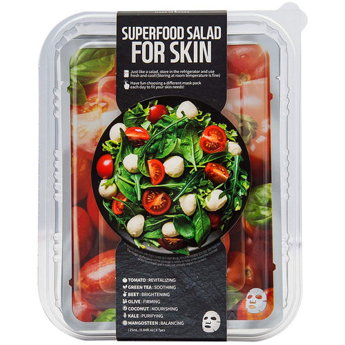 Farm Skin Salad Sheet Masks With Tomato - Dried And Tired Skin