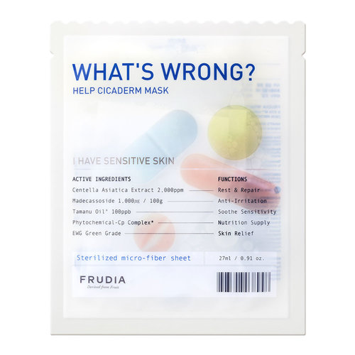 Frudia What's Wrong Help Cicaderm Mask