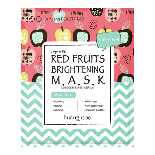 Huangjisoo Red Fruits Brightening Mask