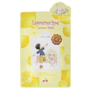 Sally's Box Loverecipe Lemon Mask