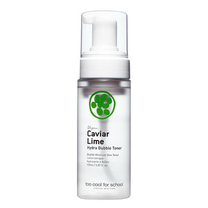 Too Cool For School Caviar Lime Hydra Bubble Toner