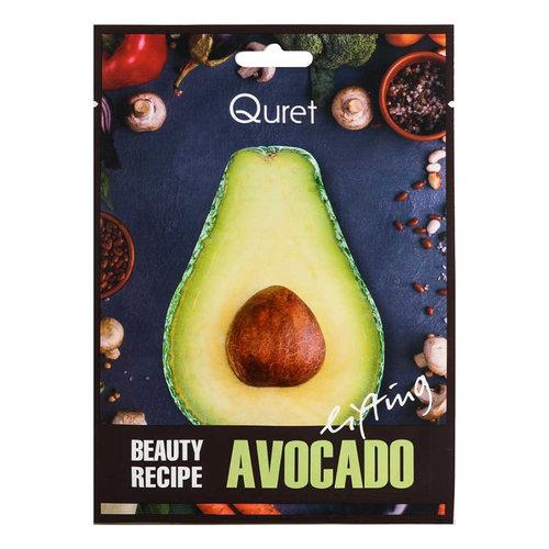 Quret Avocado Beauty Recipe Mask