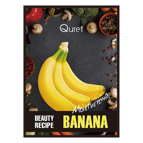 Quret Banana Beauty Recipe Mask