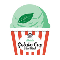 Matcha Gelato Cup