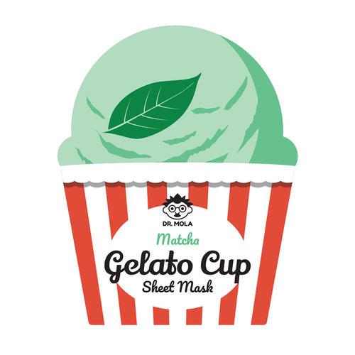 Dr. Mola Matcha Gelato Cup